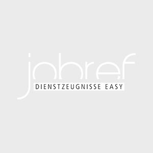 jobref – Dienstzeugnis easy